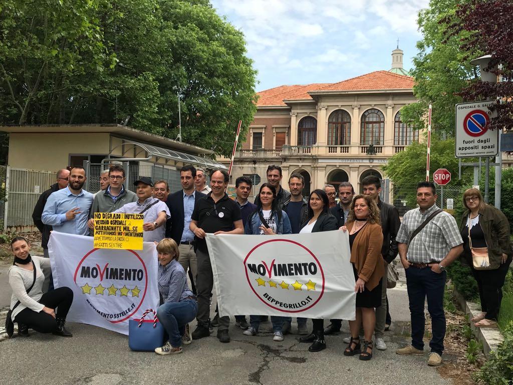 Lo stato di abbandono dell'ex Ospedale Santa Corona di Garbagnate Milanese è una vergogna