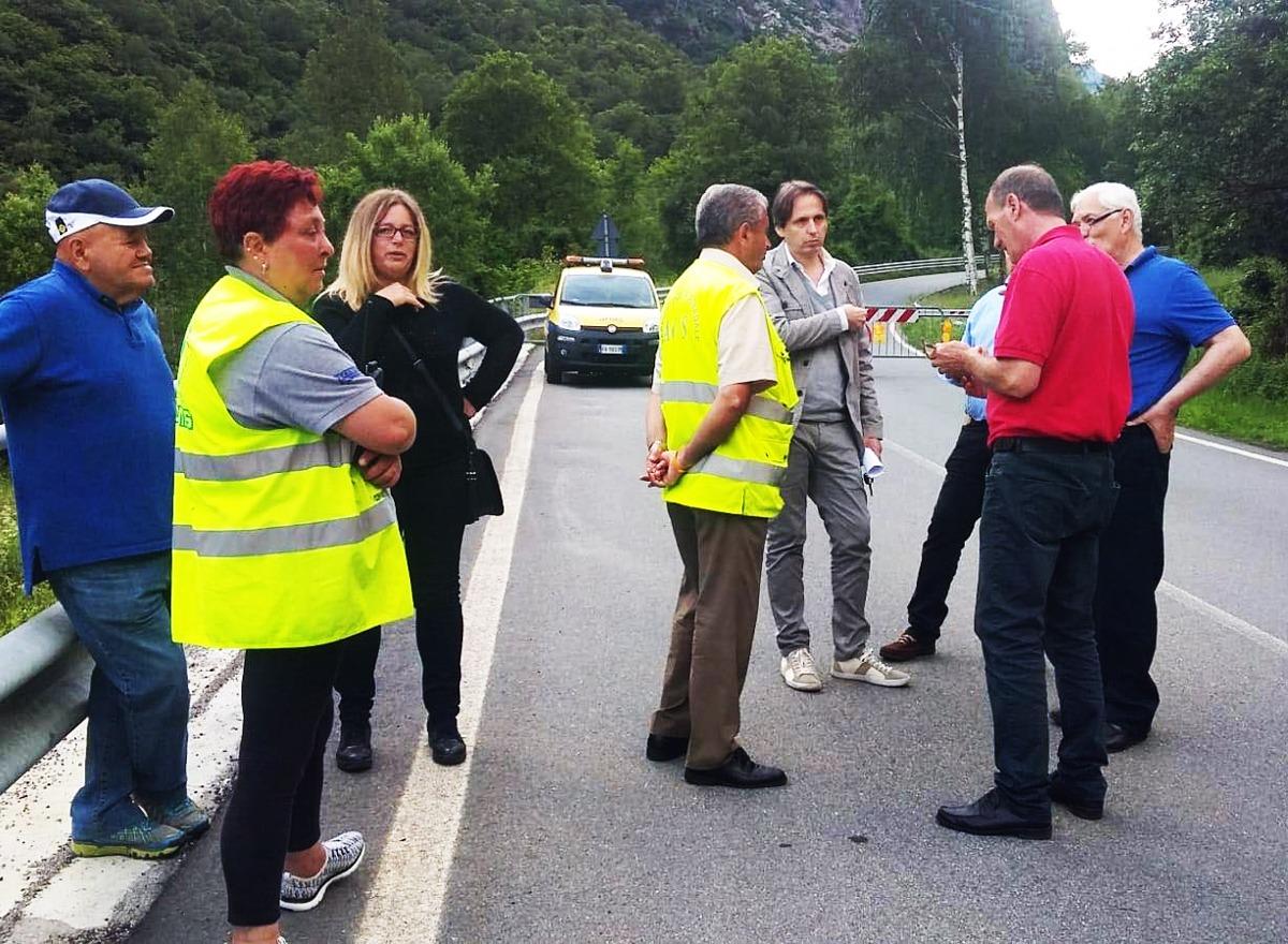 M5S Lombardia visita frana Gallivaggio: ripristinare condizioni preesistenti in tempi rapidi