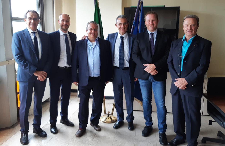 Fanghi, i rappresentanti dei territori hanno incontrato il ministro dell'Ambiente Sergio Costa