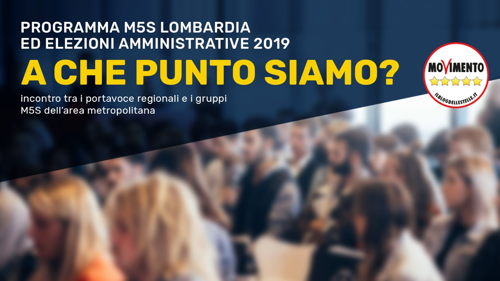 """""""Programma ed elezioni amministrative, a che punto siamo?"""" Ne parliamo il 2 dicembre a Milano"""
