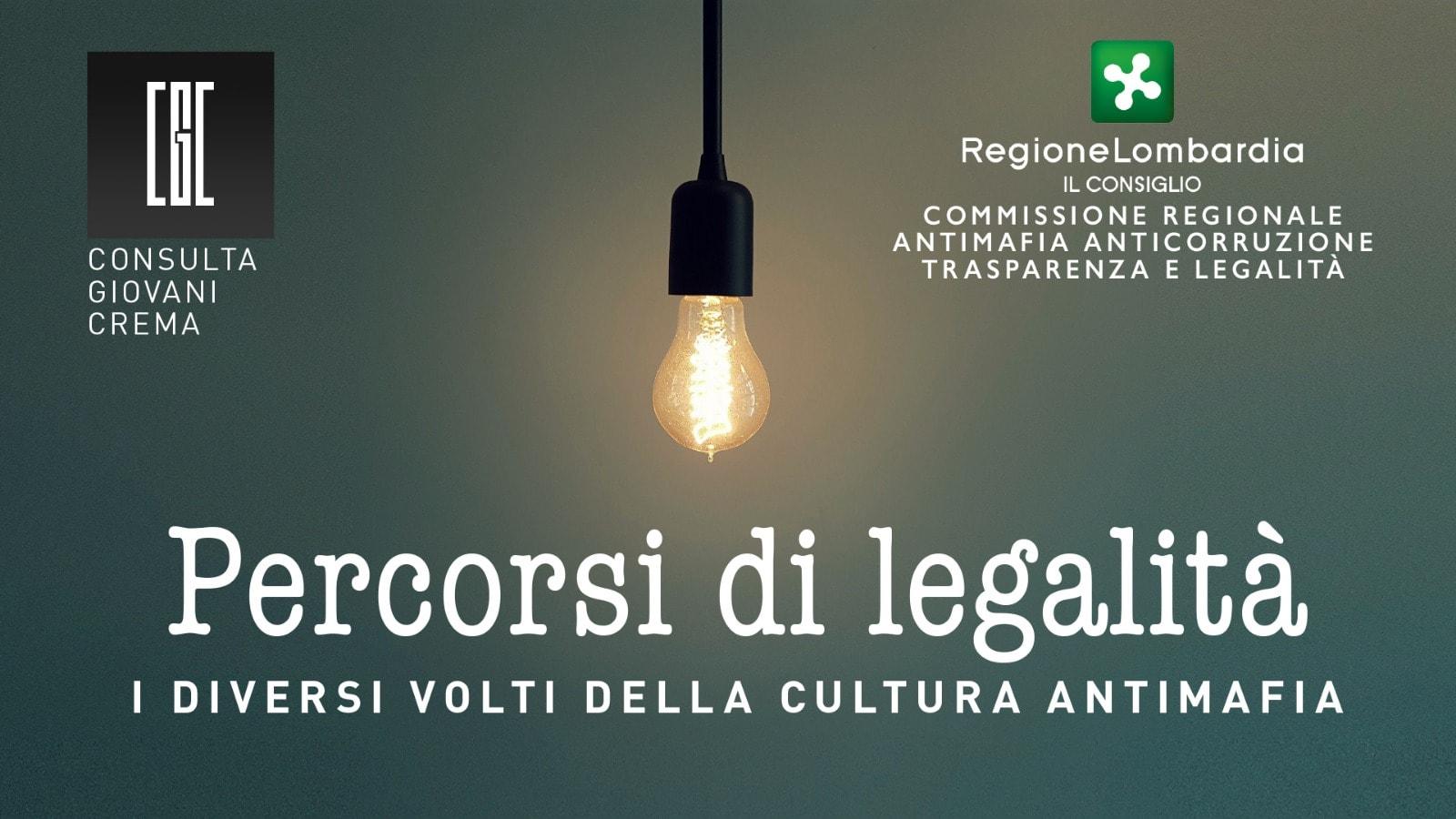 """""""Percorsi di legalità, i diversi volti della cultura antimafia"""", il 30 Novembre al Pirellone."""