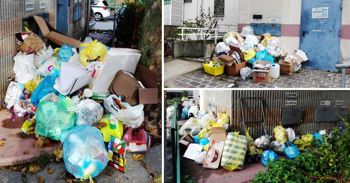 Emergenza rifiuti nelle case popolari di Cesano Boscone. Interrogazione M5S