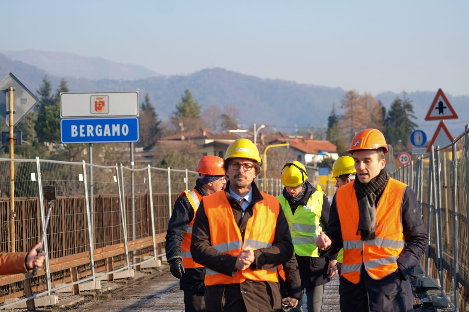La situazione del ponte di Calusco sull'Adda è una priorità nazionale