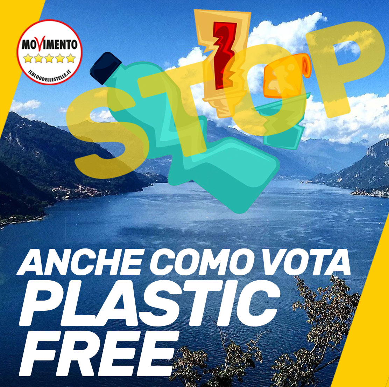 Anche Como sarà #PlasticFree. La rivoluzione M5S continua