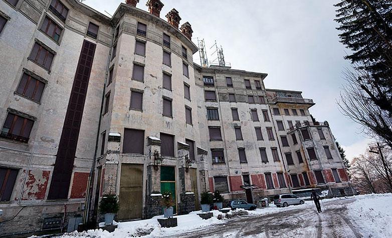 Recupero ex Grand Hotel Campo dei Fiori di Varese: tante belle parole, zero fatti
