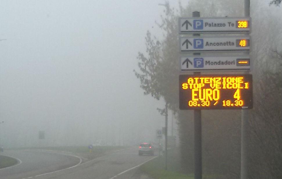 Cremona, Lodi, Pavia e Mantova in costante emergenza SMOG