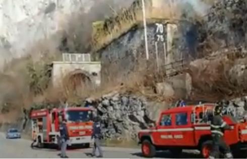 Incendio sulla Milano-Tirano: ora investire sulla linea