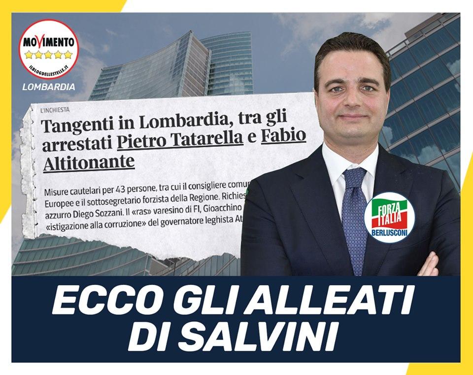 Tangenti in Lombardia. Fontana chiarisca e dimissioni immediate di Altitonante