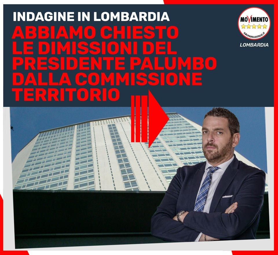 Palumbo di Forza Italia si dimetta da Presidente della Commissione regionale Territorio e Infrastrutture