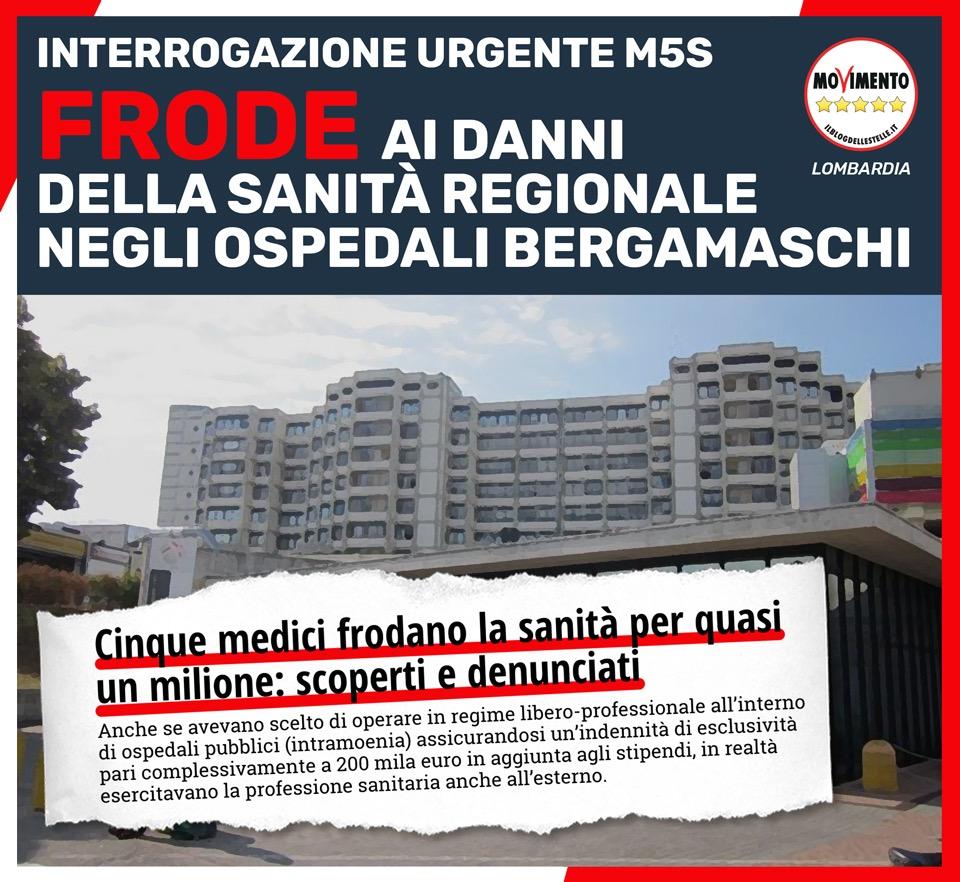 Frode al sistema sanitario a Bergamo: revocare l'accreditamento