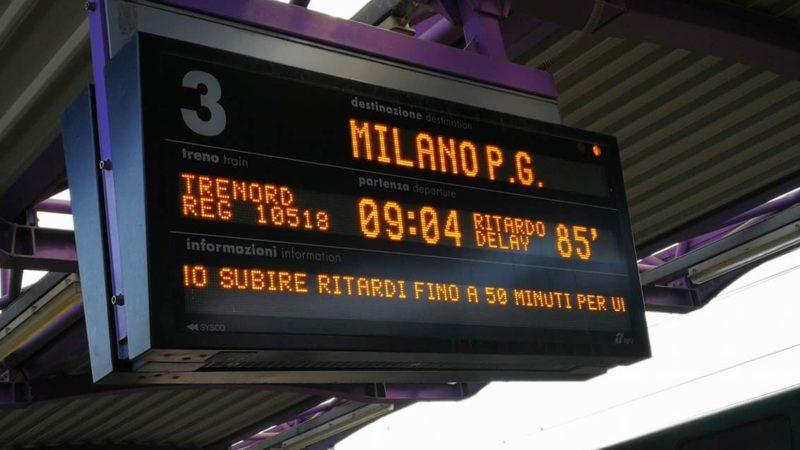 Treni: ancora una debacle tra ritardi e soppressioni. Ora l'Assessore spieghi
