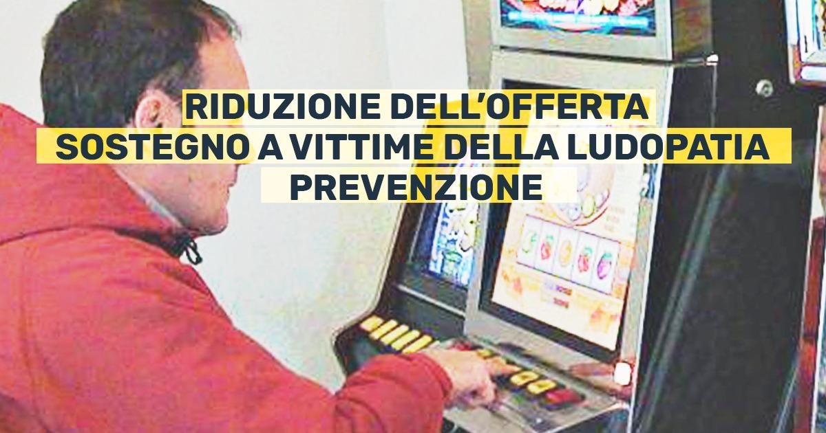 """Ludopatia: """"la Lombardia non sia un Casinò a cielo aperto""""."""