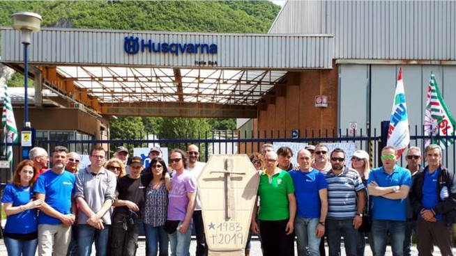 Crisi Husqvarna Valmadrera, incontro oggi in Provincia a Lecco