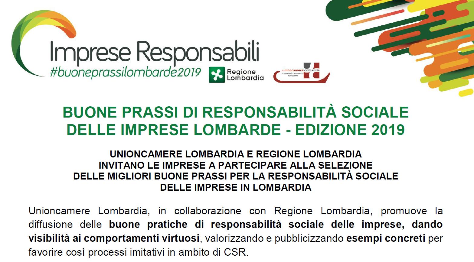 IMPRESE RESPONSABILI #buoneprassilombarde2019