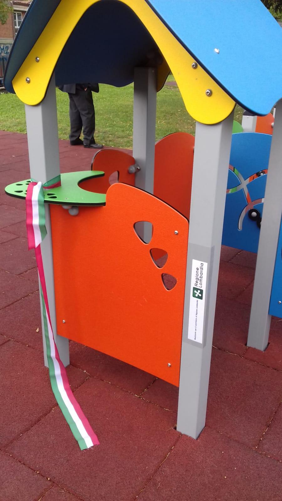 Valmadrera (LC), inaugurazione del parco inclusivo