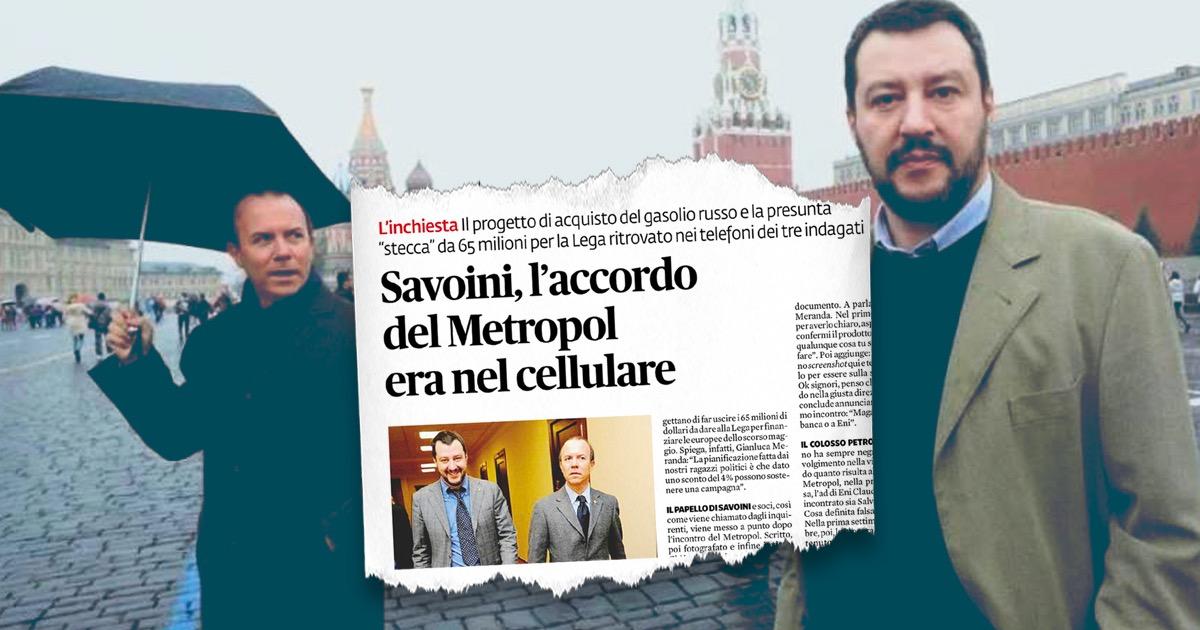 Scandalo Savoini, l'accordo del Metropol era nel cellulare