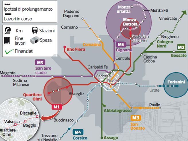 Metro Rossa: sbloccati 210 milioni