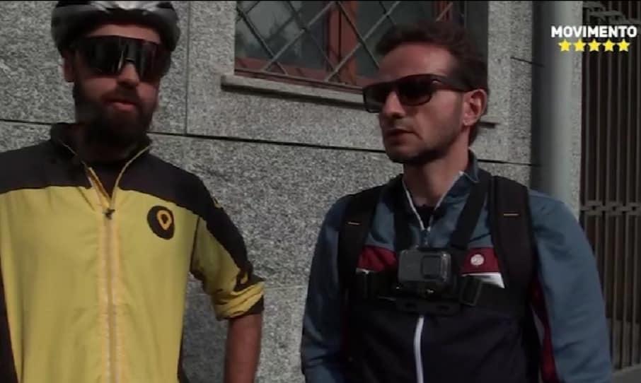 Milano, il Consigliere Degli Angeli diventa Rider