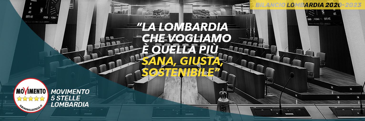 M5S Lombardia – BILANCIO REGIONALE 2020 – 2022