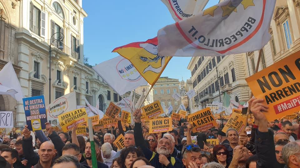 Grazie Roma…semplicemente Grazie!! #MaiPiùVitalizi