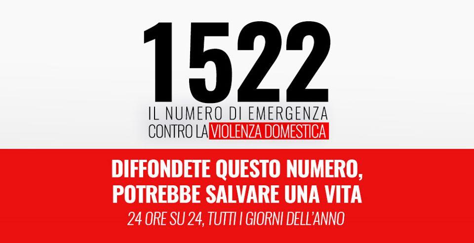 1522 – Emergenza violenza domestica
