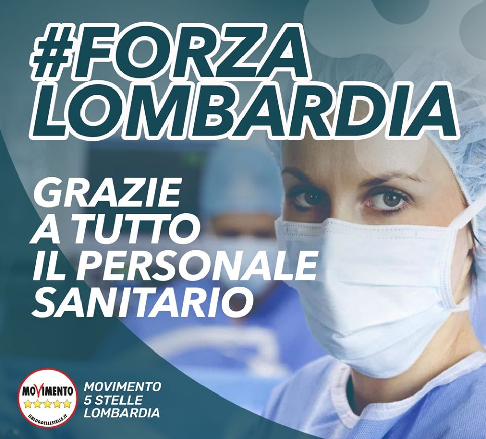 CORONAVIRUS: Forza Lombardia