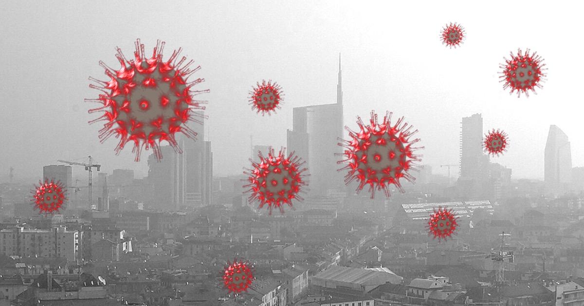 Dimostrata correlazione tra inquinamento e COVID-19