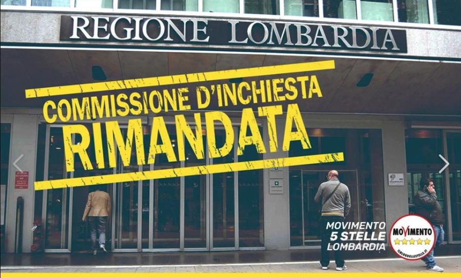 Commissione d'inchiesta – Ostruzionismo da parte della Lega