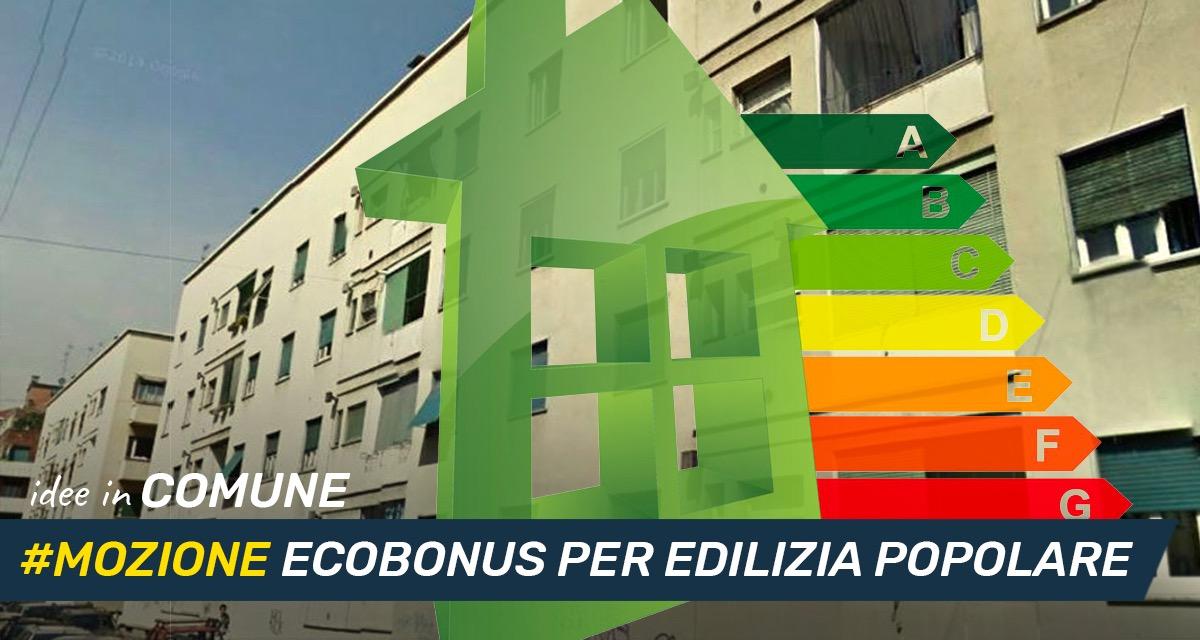 Mettiamo le Idee in comune #29: Ecobonus per l'edilizia popolare