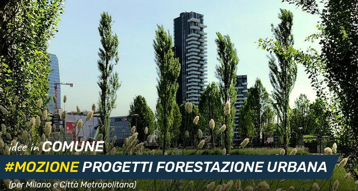 Mettiamo le Idee in comune #34– Sviluppo del verde pubblico, forestazione urbana e periurbana